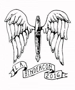 BinderCon Flying Pen by Betsy Streeter